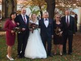 Blahopřání novomanželům Mílovi a Terce
